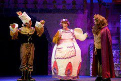 Mrs potts theatre costume