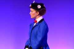 Mary Poppins blue dress