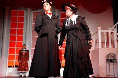 Mary Poppins and Ms Andrews costumes
