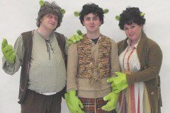Papa Ogre, Young Shrek and Mama Ogre