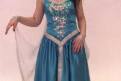 bluedress spamalot stage costume
