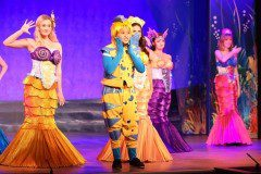 Little Mermaid Musical Flounder and Mersisters Theatrical Costumes