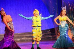 Little Mermaid Musical Flounder and Mersisters Costume