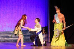 The Little Mermaid King Triton, Prince Eric, and Ariel Wedding Production Costumes