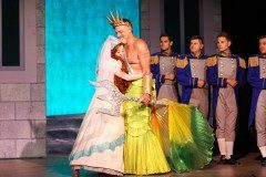 The Little Mermaid King Triton and Ariel Wedding Production Costumes