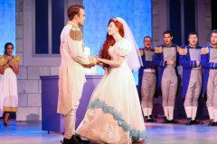 The Little Mermaid Prince Eric and Ariel Wedding Production Costumes