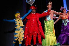 The Little Mermaid Sebastian, King Triton, and Flounder Theatrical Costumes