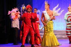 The Little Mermaid Musical Sebastian and King Triton Quality Costume