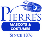 Pierre's Mascots & Costumes Logo