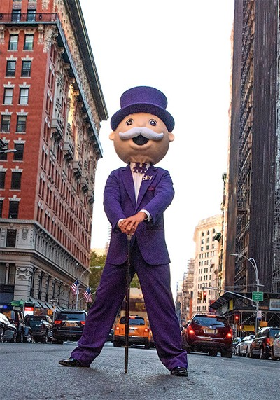 Mr monopoly mascot costume| Pierre's Mascots & Costumes