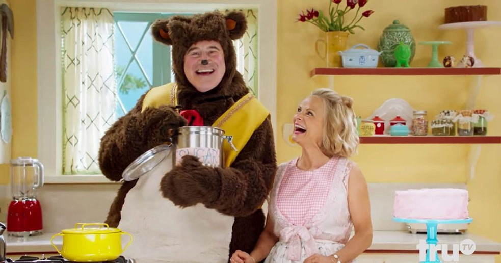 bear costume rental Amy sedaris TV