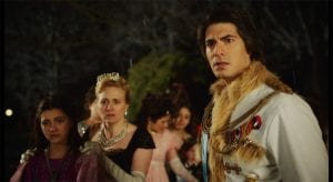 Brandon Routh wearing costume rented from Pierre's Mascots & Costumes