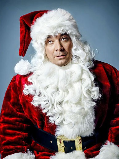 Jimmy Fallon Santa suit costume Pierre