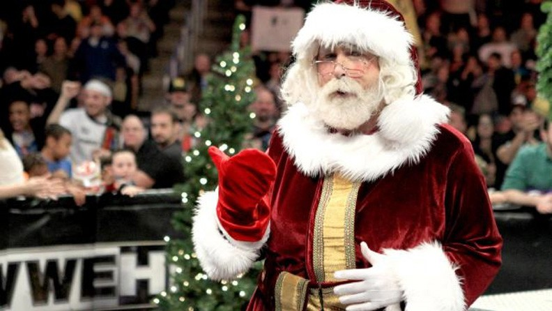 Santa suit created for WWE